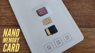 NANO MEMORY Card (NM CARD) by Huawei.