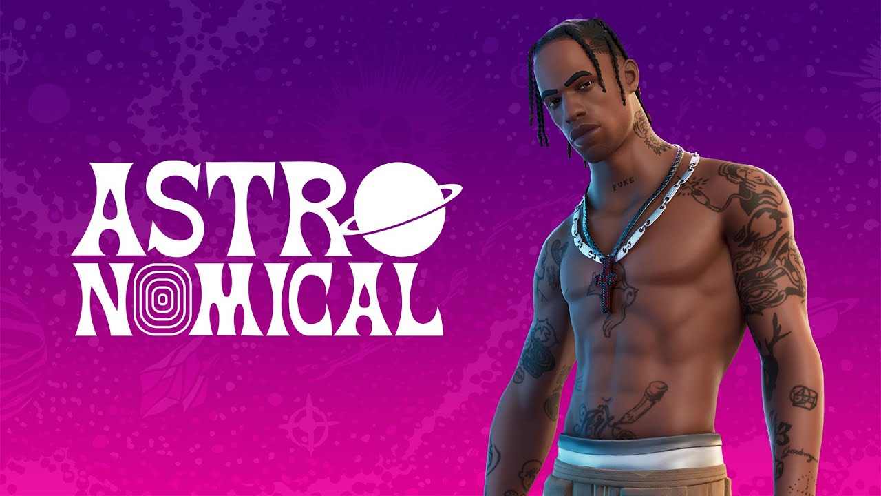 Fortnite and Travis Scott: Astronomical Trailer