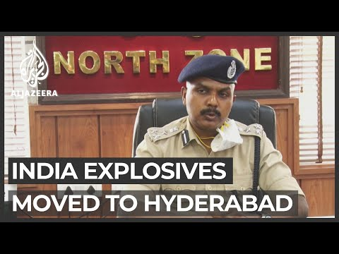 India: Tonnes of ammonium nitrate moved to Hyderabad