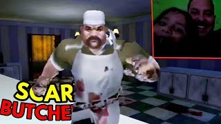 SCARY BUTCHER 3D ■ AÇOUGUEIRO COMEDOR DE GATO!  ● STAGE #1 ao #12 ■ ANDROID GAMEPLAY