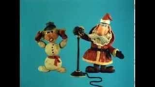 Новогодняя песенка Деда Мороза (1983) пластилиновый мультфильм
