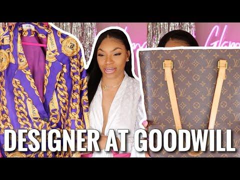Goodwill DESIGNER THRIFT HAUL!! Louis Vuitton, Chanel,Fendi & More