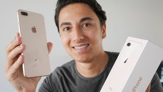 iPhone 8 Plus Or : Déballage et prise en main ! (Unboxing)