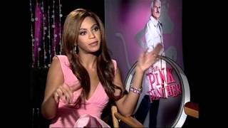 The Pink Panther: Beyonce Interview