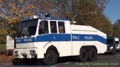 Technische Einheiten BPOL Sankt Augustin + 2x GKW THW Köln