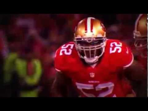 Patrick Willis - the Last at Candlestick Park