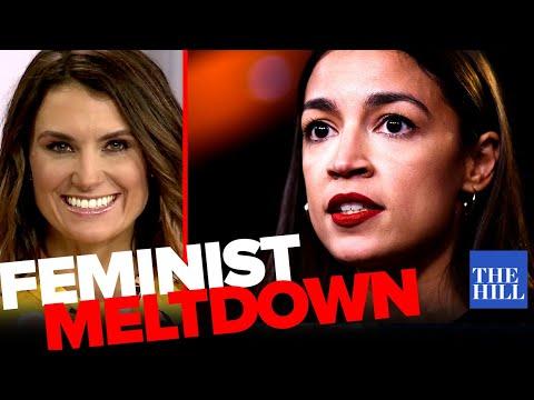 Krystal Ball: White feminist meltdown over AOC's Bernie endorsement