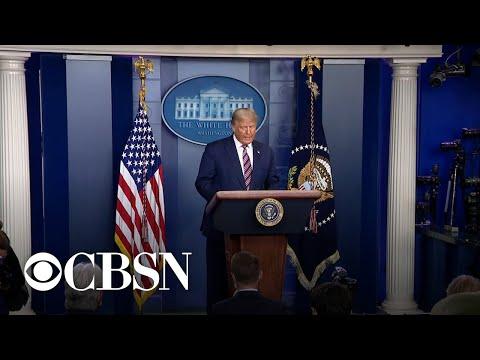 CBS News Special Report: Trump delivers …