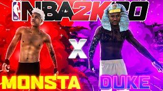 """LaMonsta and DukeDennis is the new """"UNDEFEATED DUO"""" on NBA2K20 MYPARK TAKEOVER"""