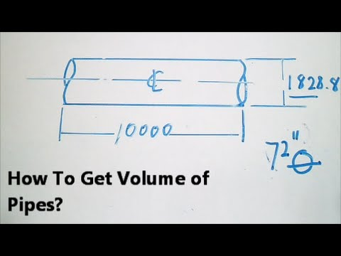 How To Get Volume of Pipes? - YouTube
