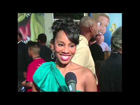 """The Princess and the Frog: Premiere Anika Noni Rose """"Tiana"""" Interview"""