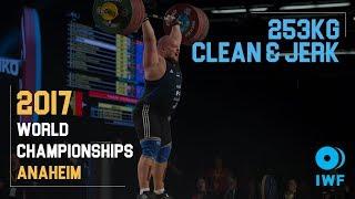 Mart Seim | 253kg Clean & Jerk