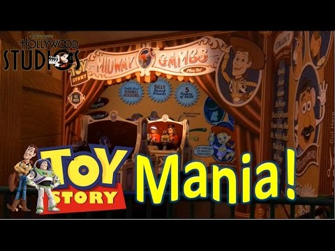 Toy Story Mania Complete Ride Experience | Disney World Hollywood Studios
