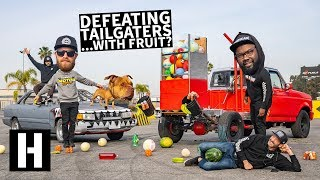 Anti Tailgater Test #3: Watermelons, Basketballs, and... Soda? Will You Crash?