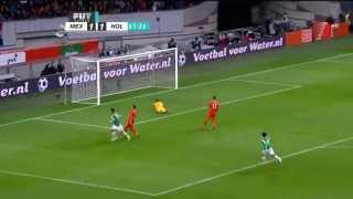 Mexico vs Holanda 3-2 Amistoso 12/11/2014 Goles TV Azteca