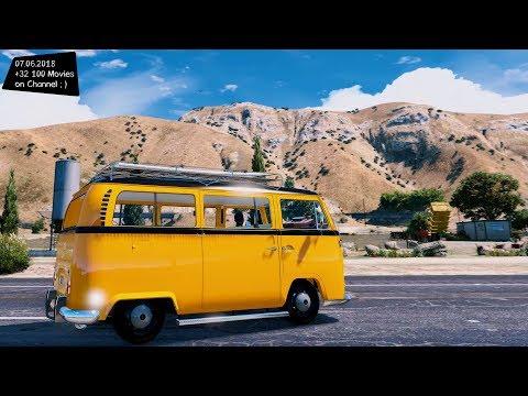 Volkswagen Combi Test Drive GTA V _REVIEW