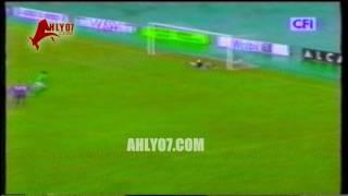 ثلاثية الأهلي مقابل 2 شوتنج ستارز شادي محمد وجودة وبلال دوري الأبطال 21 أغسطس 2000