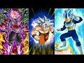 Full Transforming Team vs Goku Black! DBZ Dokkan Battle