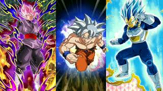 Full Transforming Team vs Goku Black! DBZ Dokkan Battle