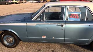 1964 Plymount Valiant 200 For Sale - Home Depot Parking Lot - June 8, 2014
