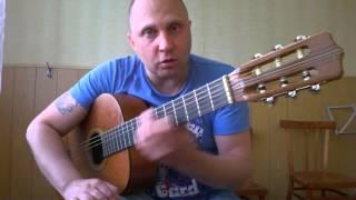 Уроки гитары.Белые розы.Вступление