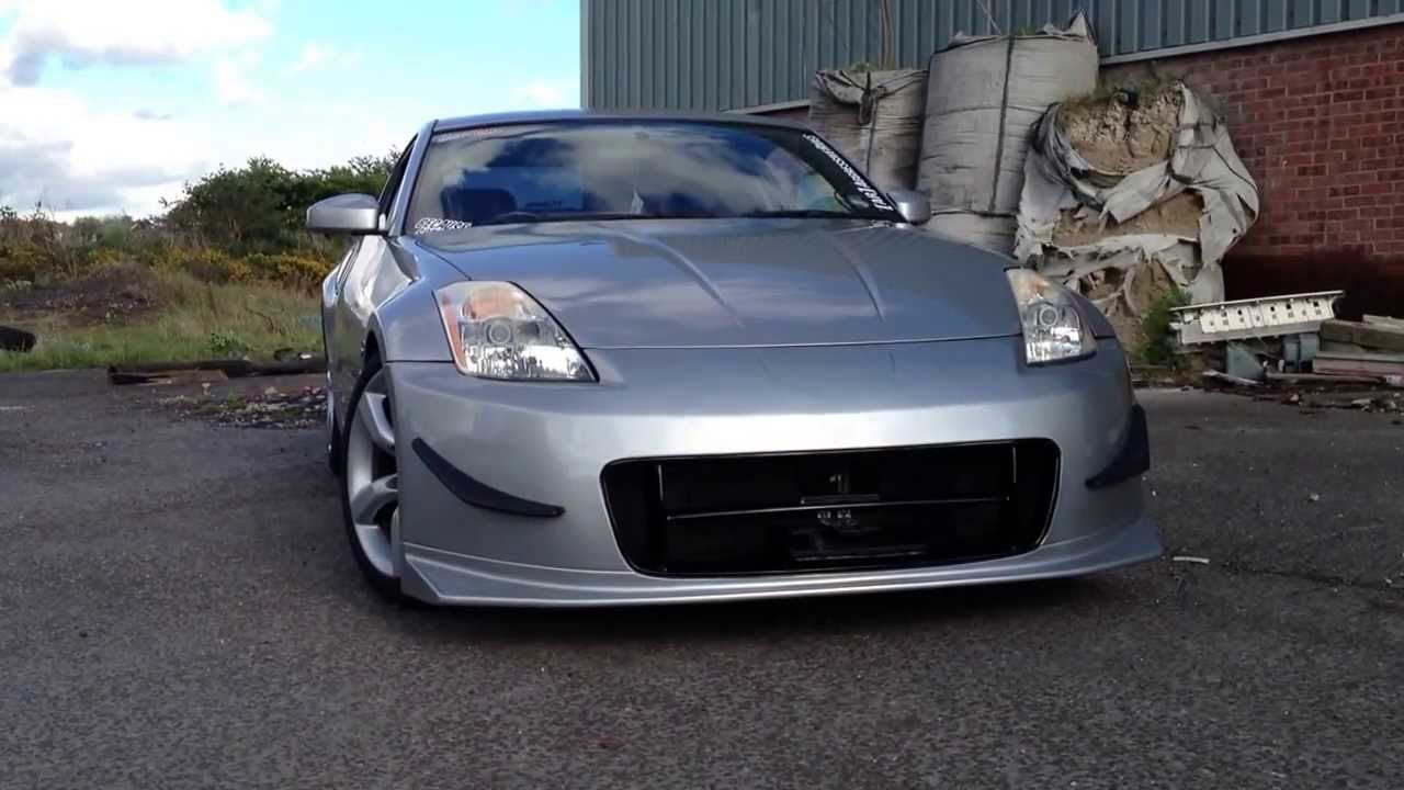Show and Go number plate flipper Nissan 350Z - YouTube