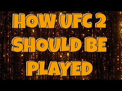 UFC 2 HOW IT SHOULD BE PLAYED | LEAGUE FIGHT | PS4