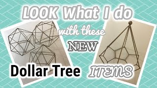 Look what I do with these NEW  DOLLAR TREE items  | Dollar Tree DIY