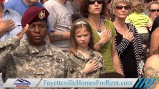 Tour of Fort Bragg in North Carolina