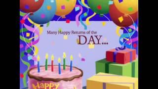დაბადების დღის მისალოცი სიმღერა