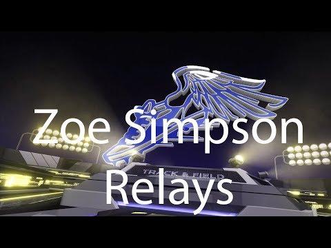 The Admiral: 2018 Nimitz Track Team: Zoe Simpson Relays