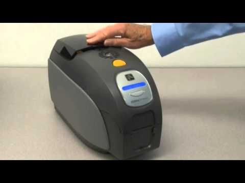 Zebra ZXP Series 3 ID Card Printer - How to Clean Your Printer