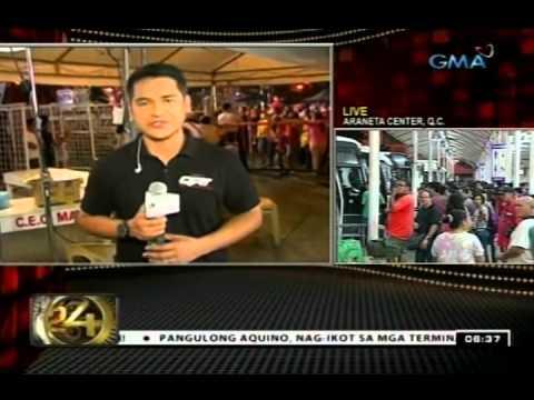 24Oras: Mayor Erap, naglakad papunta sa puntod ng kaibigang si FPJ