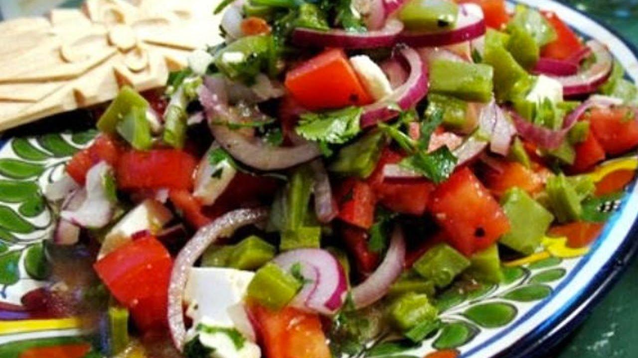 Recetas de cocina ensalada de nopales