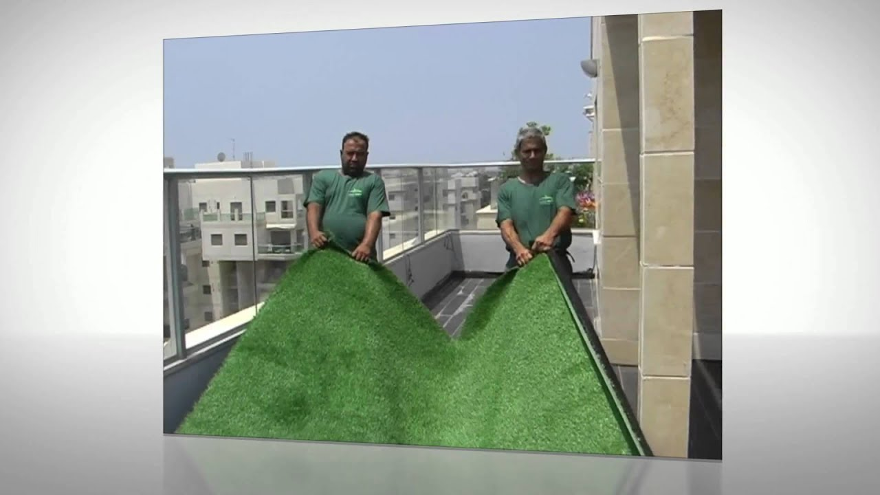 How To Install Artificial Grass For Balcony   Deshe Kavua   YouTube