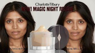 Magic Night Cream : Skincare Routine feat. Rena | Charlotte Tilbury