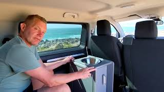 How to fit a Vangear Mini-Pod into your camper van - Citroen spacetourer