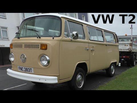 VW T2 Bus 2000 L in England (1975-1979) Volkswagen Bulli Typ 2 - Vintage car - Oldtimer