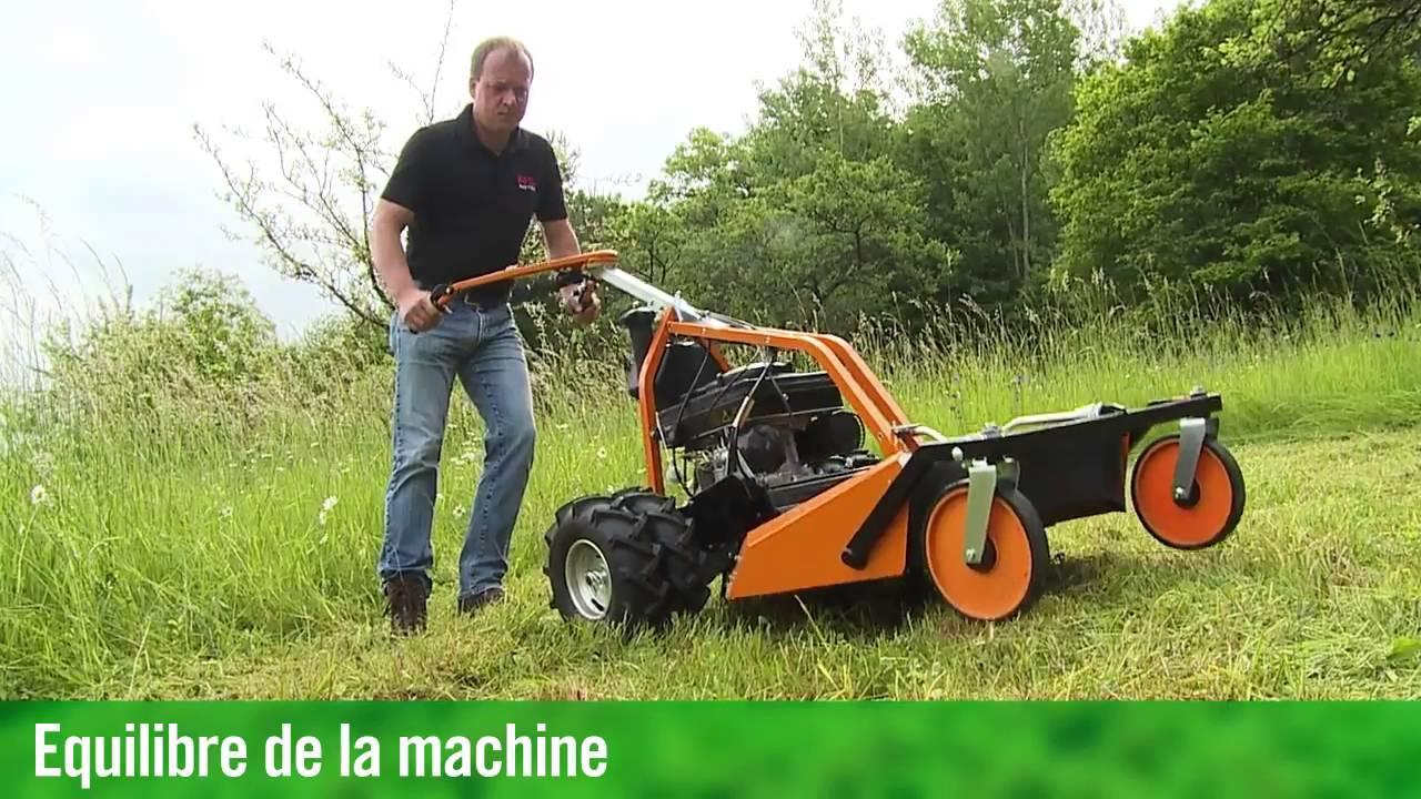 As motor tondeuse d broussailleuse 63 youtube - Tondeuse pour terrain en pente ...