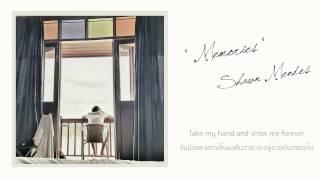 Gambar cover Shawn Mendes - Memories [แปลไทย]