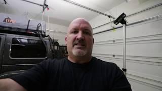 Op het dak Tent Opslag/Lift en Installatie zonder hulp!