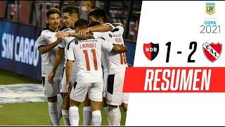 ¡3 TRIUNFOS AL HILO DEL ROJO!   Newell's 1-2 Independiente   RESUMEN
