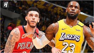 Los Angeles Lakers vs New Orleans Pelicans - Full Game Highlights January 3, 2020 NBA Season