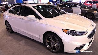 2018 Ford Fusion Sport - Exterior and Interior Walkaround - 2018 Montreal Auto Show