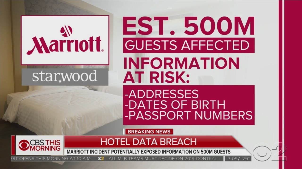 a872bf498e Marriott Data Breach May Expose 500 Million Guests - YouTube
