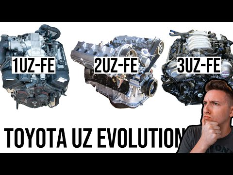 The Evolution of the Toyota UZ Engine (Explained)