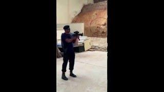 Corner Shot Video With Cobra Weapon Sight