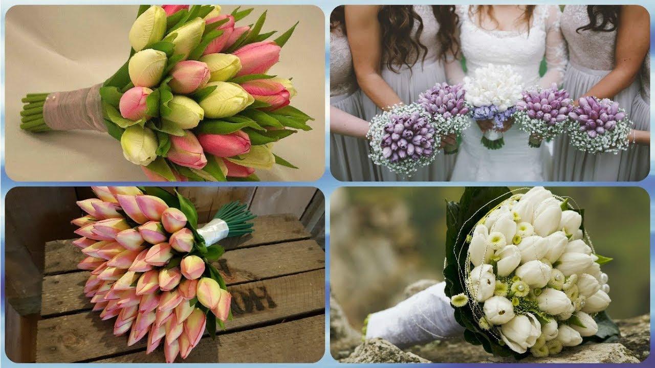 Tulipani Bouquet Sposa.Top 20 Idee Per Bouquet Sposa Con Tulipani Youtube