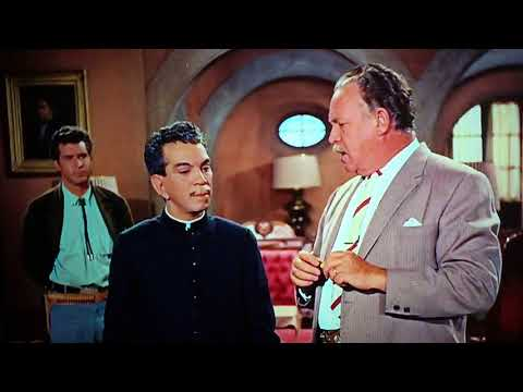 Cantinflas escena de película el padrecito hd