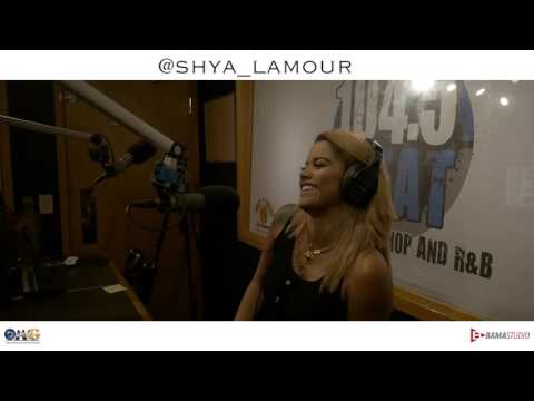 Shya L'amour promo video @ 104.5 Orlando Radio station